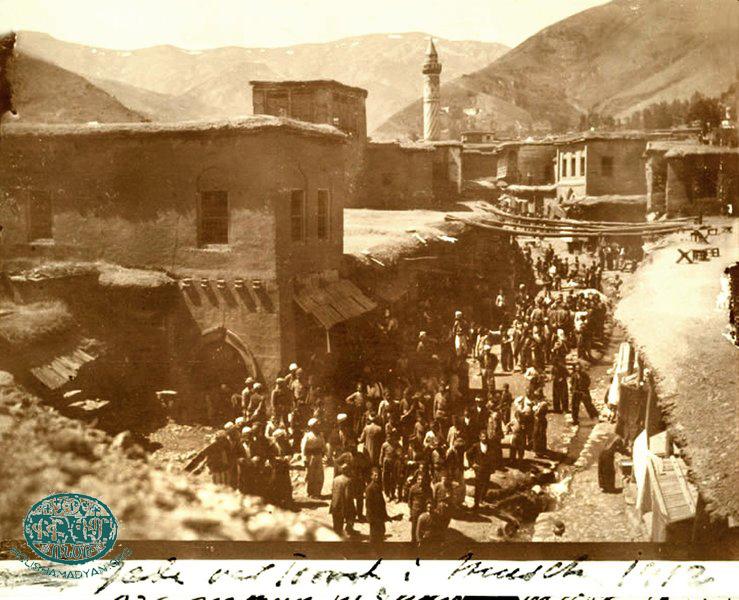 Muş, 1912. Şehirden bir görünüm