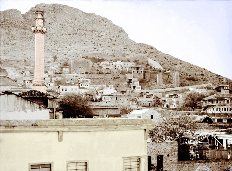 Sis/Kozan circa 1920. The Cilician Catholicosate can be seen in the background