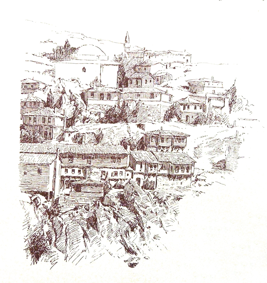 Bilecik/Biledjik: A scene from the town