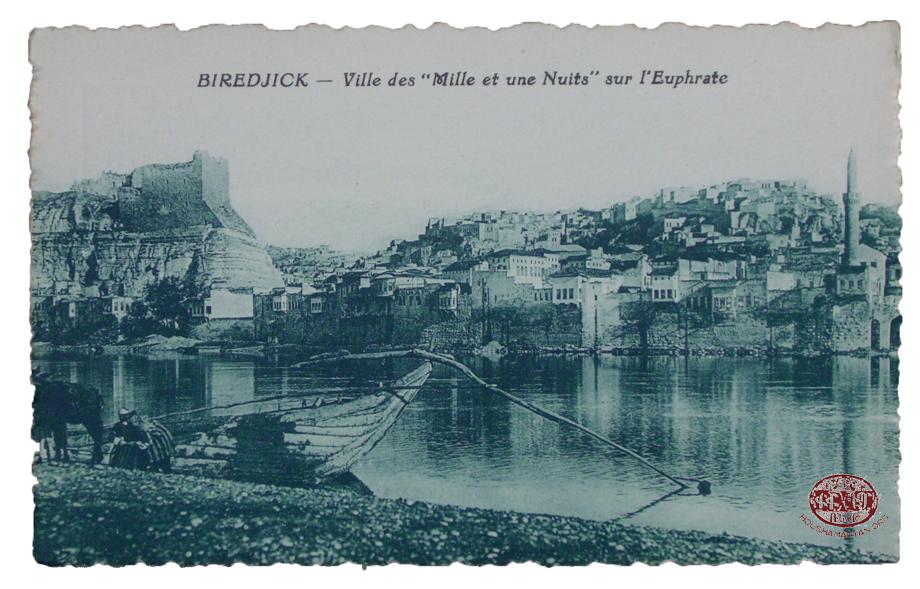 Biredjik/Birecik: A general view of the town