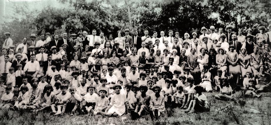 Բալուցիներու տարեկան դաշտահանդէսը Ռոտ Այլընտի մէջ, 1930ական թուականներ (Ազարիկ Գուլոյեանի հաւաքածոյ)