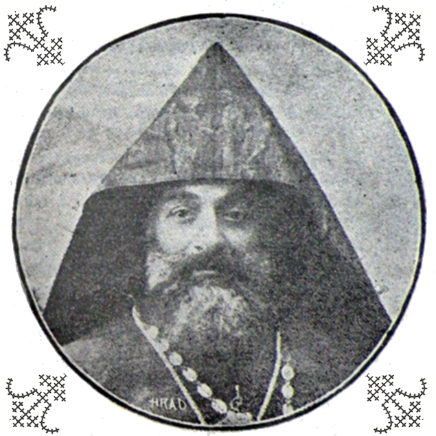 Archbishop Yeznig Kalpakdjian (1860-1915), the last diocesan leader of Palu (Source: Grayian, op. cit., page 243)