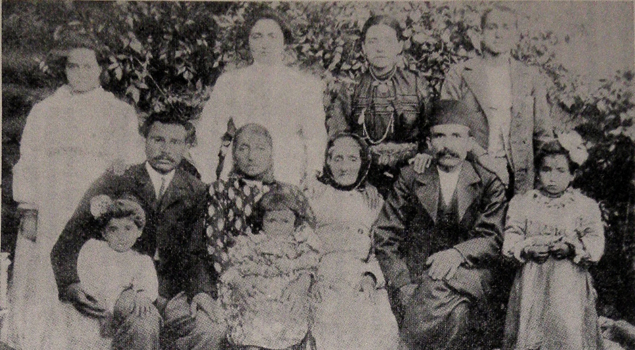The Baloyian family from the town of Palu