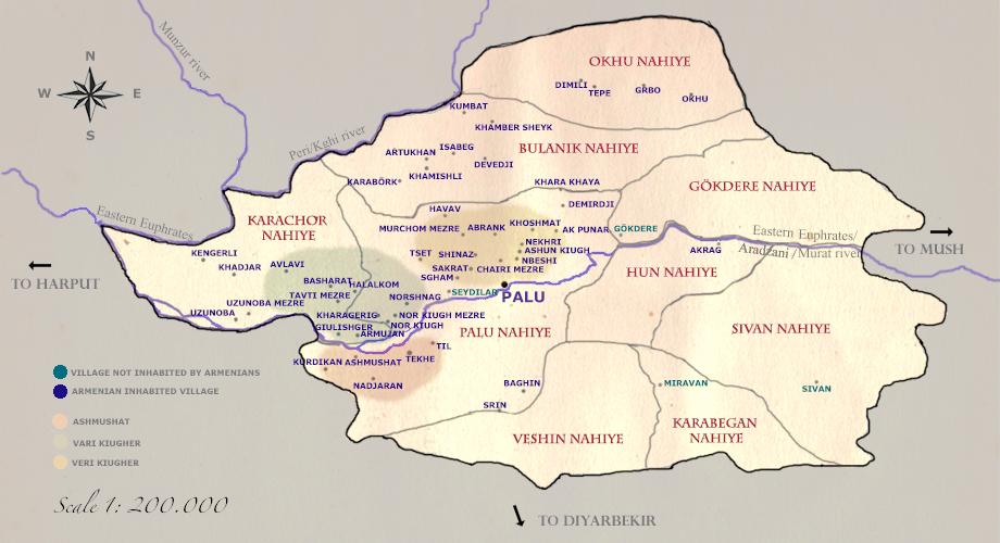 Kaza (district) of Palu © Houshamadyan e. V. 2011