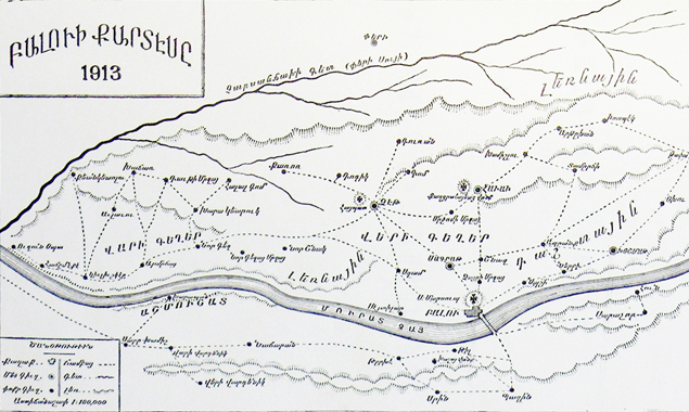 Map of Palu county (source : Sarkisian, op. cit., page 349)