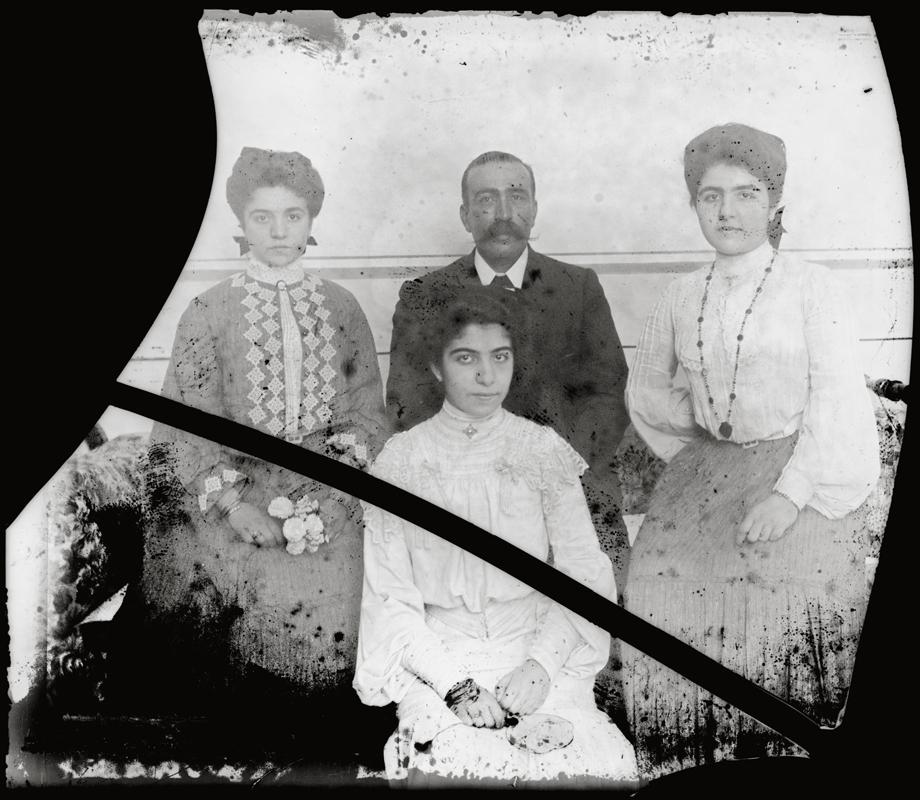Most probably an Erzurum/Garin Armenian family