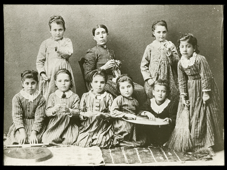 Harput/Kharpert: Armenian girls' orphanage