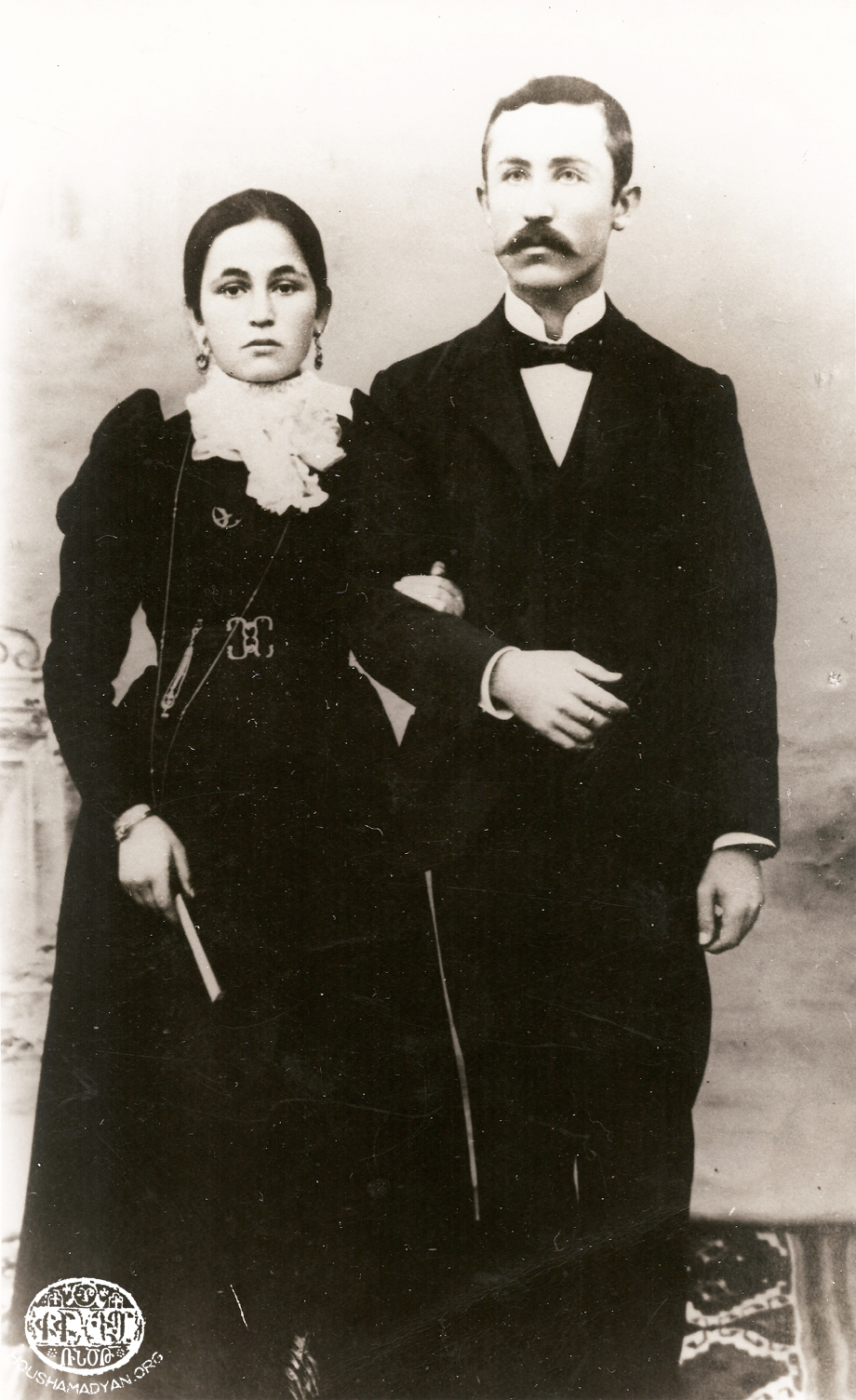 Sis native Avedis Kasardjian and his wife Giulenya (nee Balian)