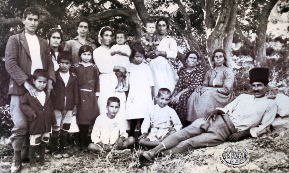 Yoghoun Olouk (Mousa Ler) – Family photo; circa 1933