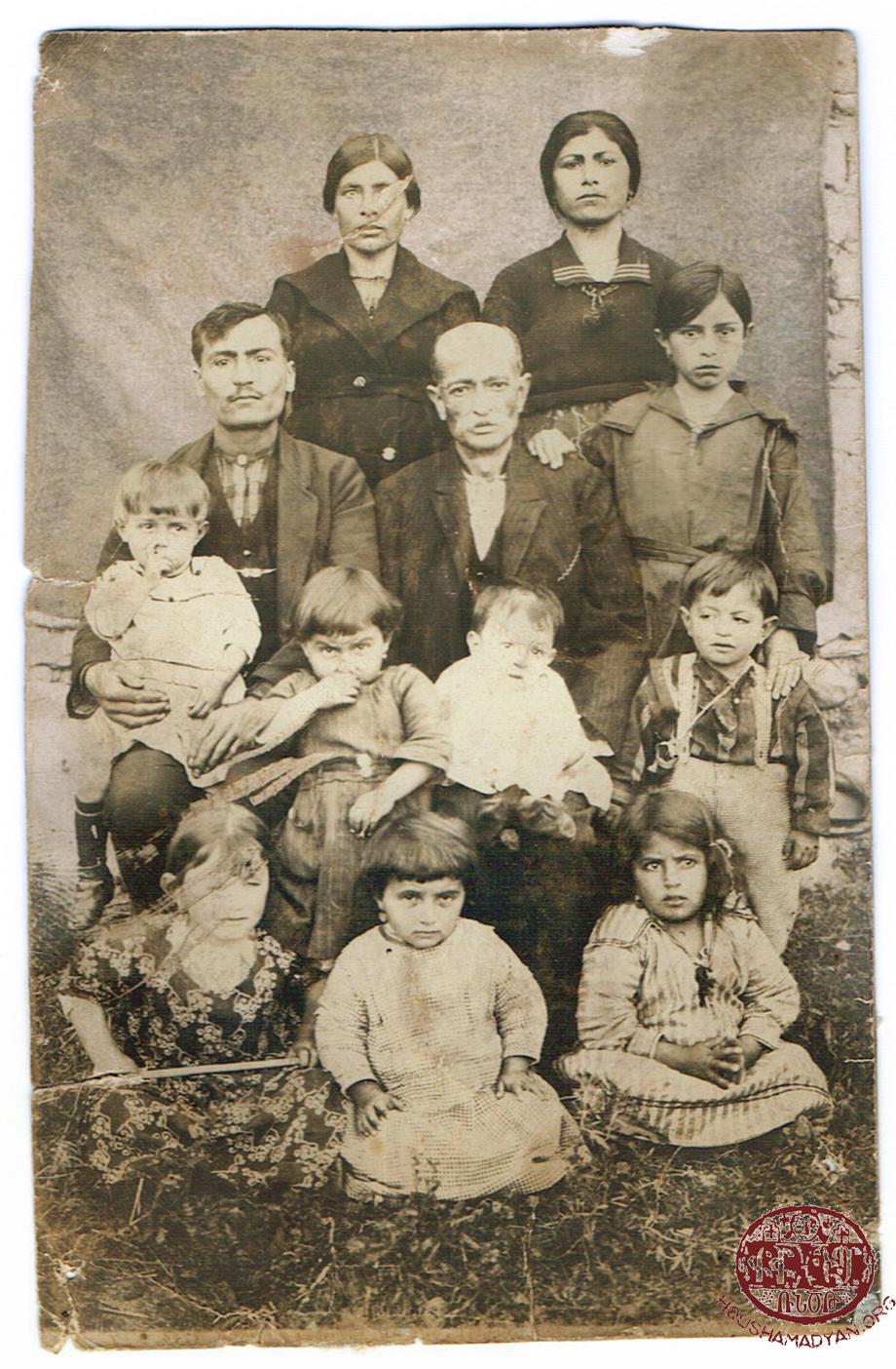 Թերզեան ընտանիքը Եոզկատի շրջանին մէջ 1920-ականներու սկիզբը
