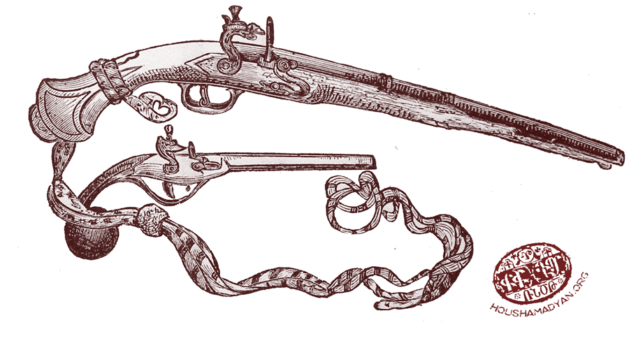 Pistols used in the Ottoman Empire