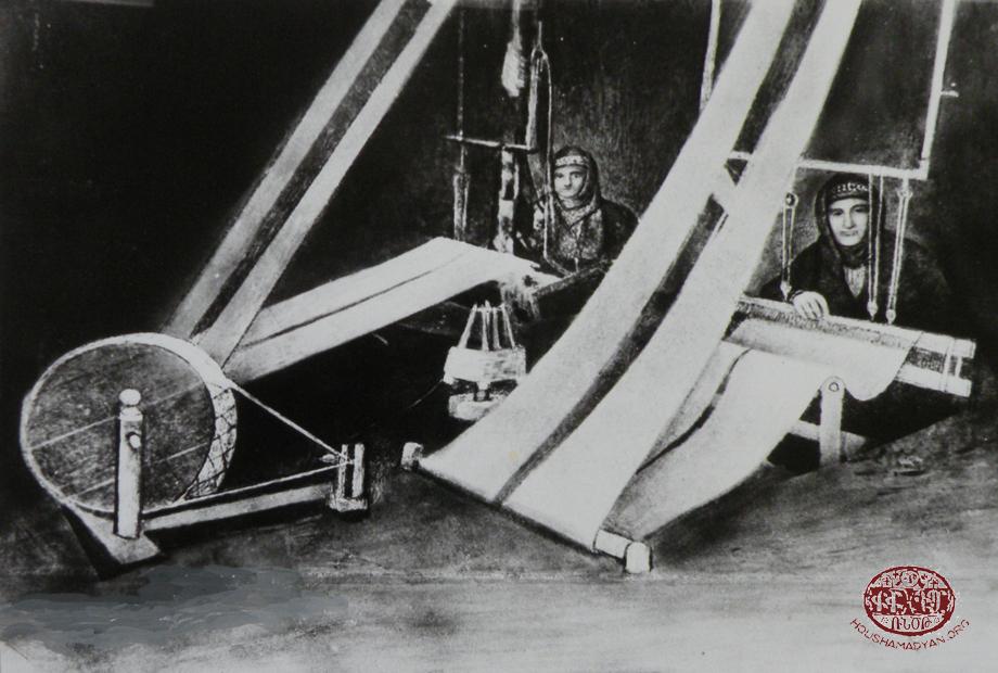 Weavers in Hussenig