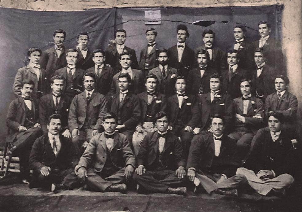Euphrates College, Harput. College graduates, 1906