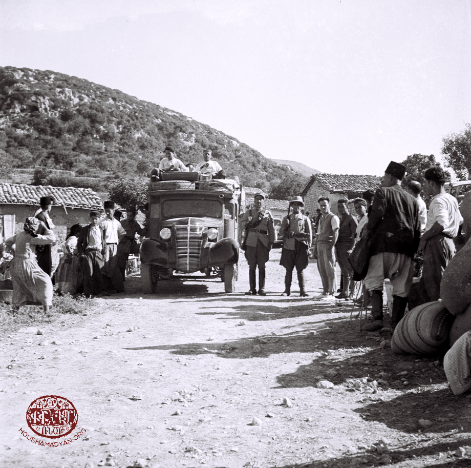 Exodus of Armenians from Mousa Ler's Yoghoun Olouk village in 1939