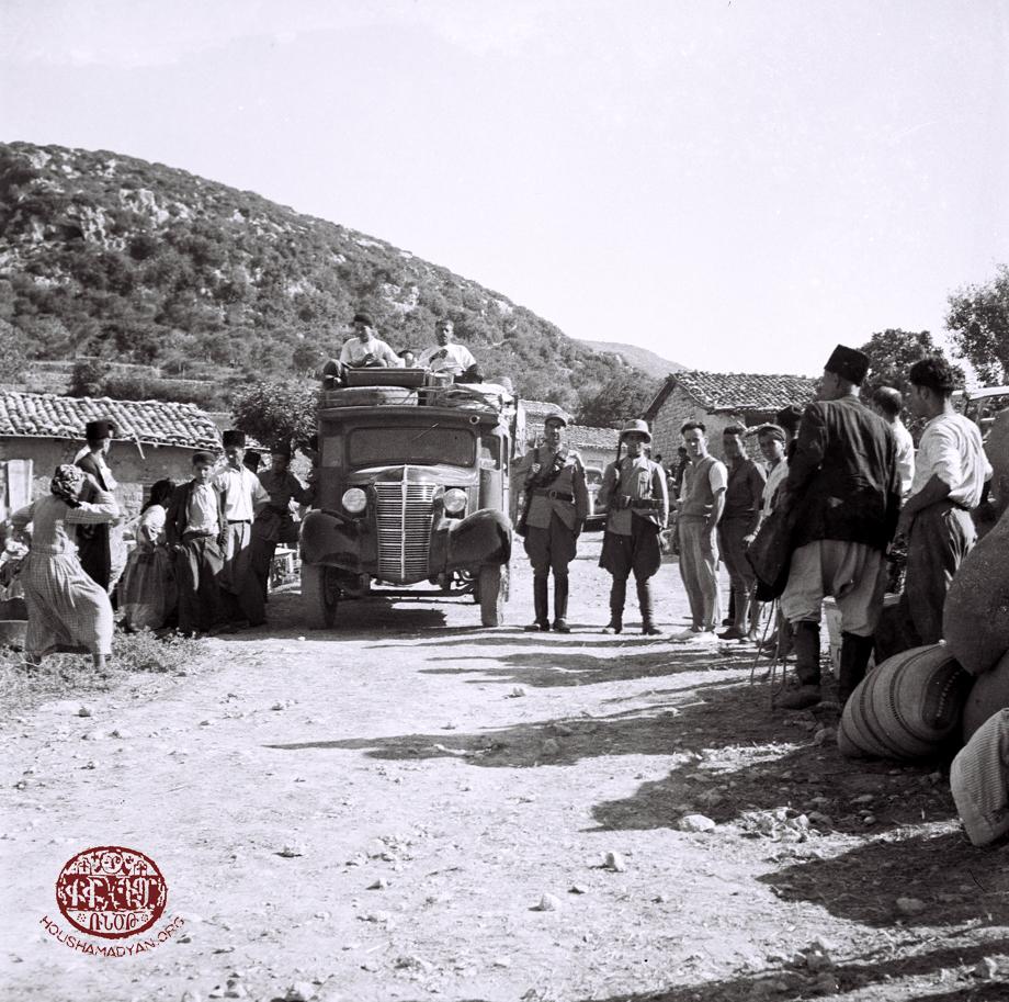 Exodus of Armenians from Mousa Ler's Yoghoun Olouk village in 1939