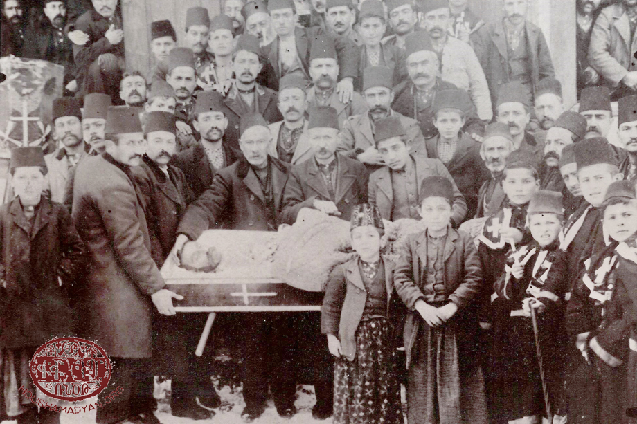 Yozgat, circa 1911. Armenian funeral