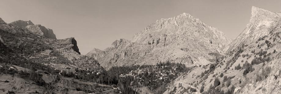 Panoramik bir Zeytun fotoğrafı (Fotoğraf: Hrair Hawk Khatcherian)
