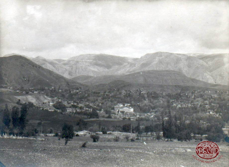 Arapgir, the Armenian church neighborhood, after 1907