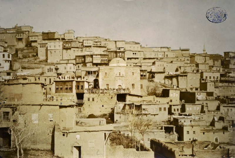 The Armenian houses in the St. Hagop neighborhood of the city of Harput (Veri Tagh)
