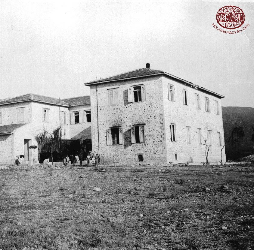 «Քելէկեան» որբանոցը, կառուցուած 1912-ին