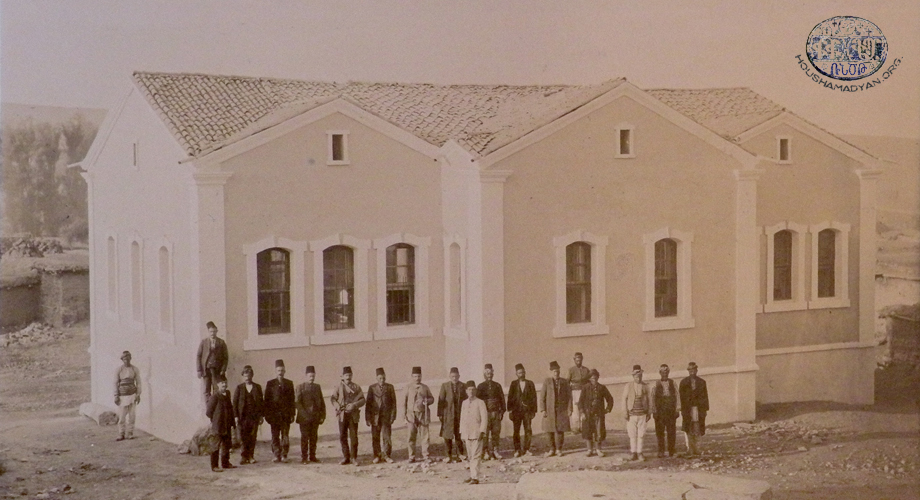 Iydeli/İğdeli: the opening of the Bartevian School, 1912