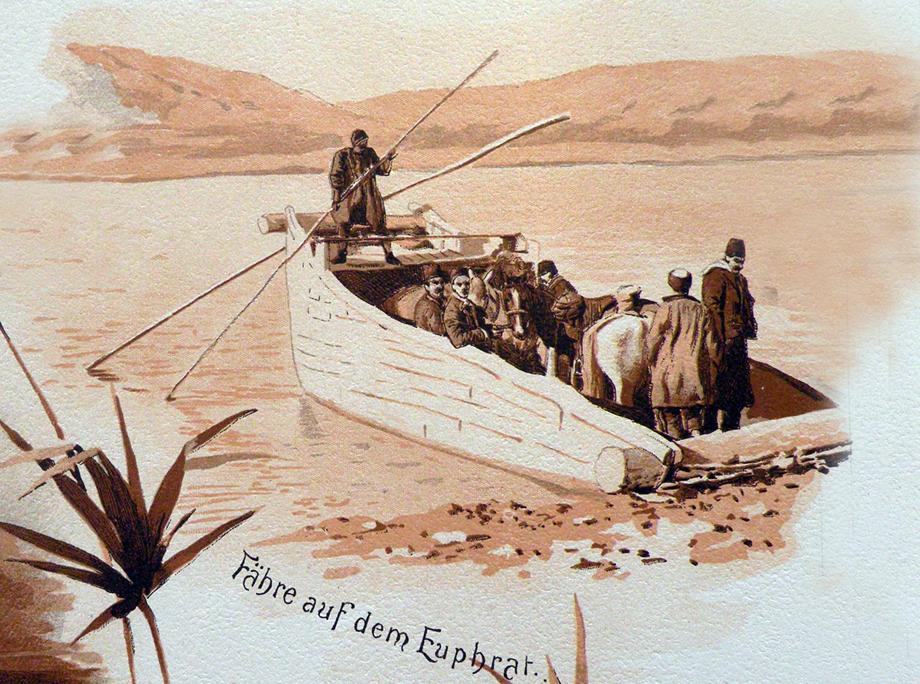 Արածանի (Արեւելեան Եփրատ կամ Մուրատ) գետի վրայ ճամբորդութիւն