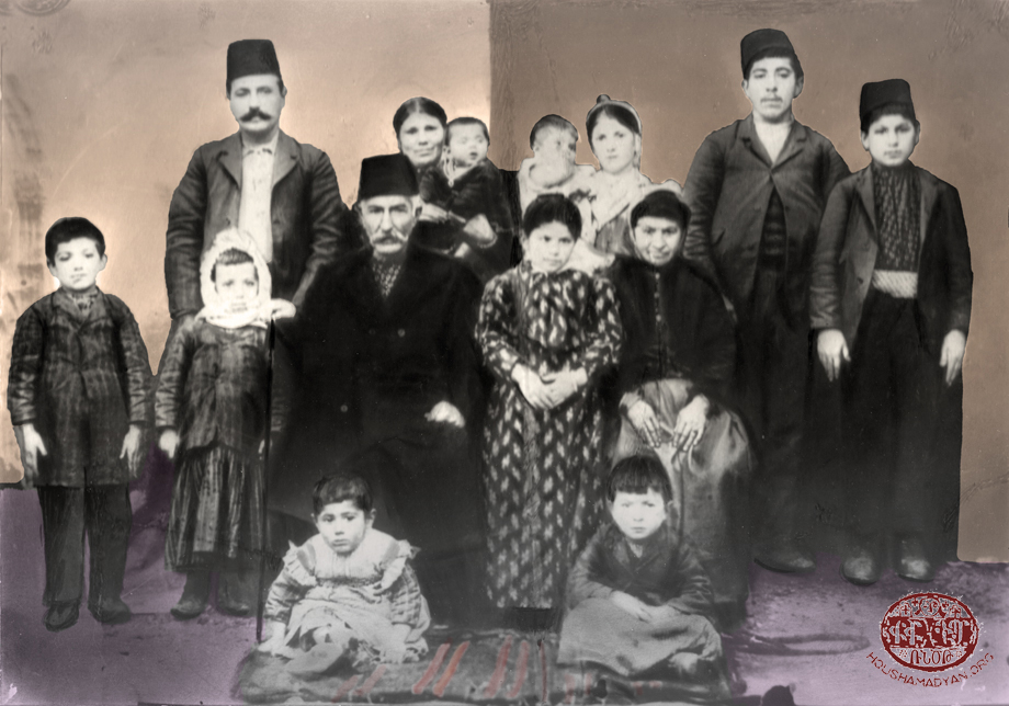 Sis. The Garabedian family, 1911