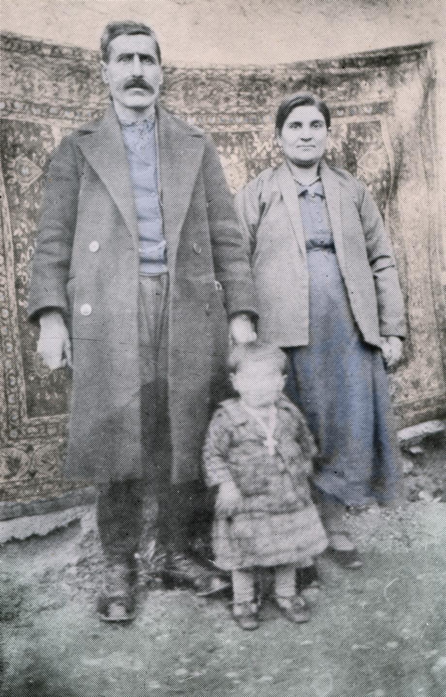 Melkon Nazarian (from Agn), his wife Nazeni, and their son, Avedis Nazarian