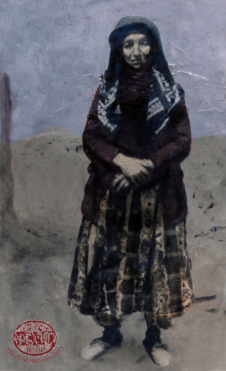 Զէյթունցի հայ կին մը՝ Մարիամ Պարութճեան