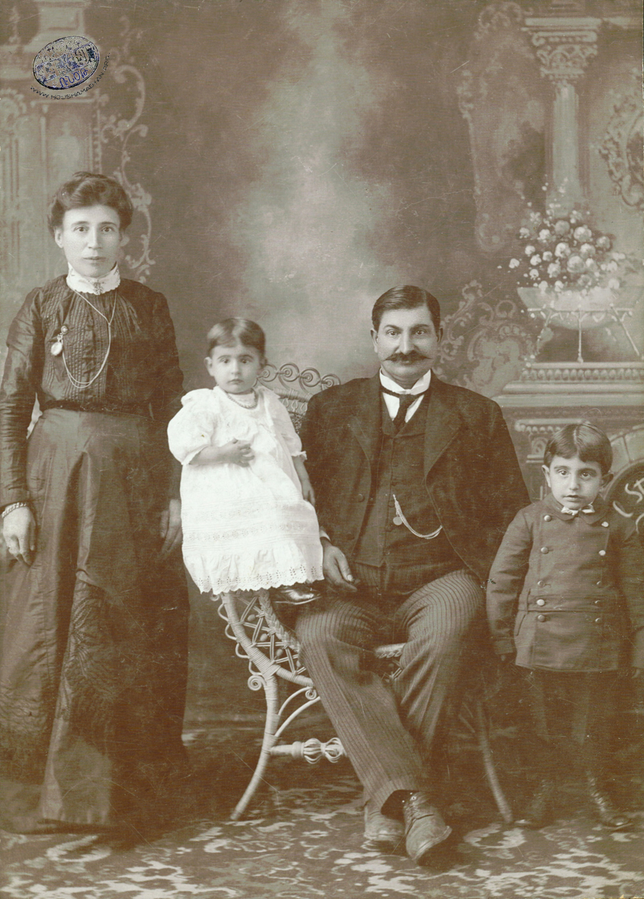 Fresno, January 1916: The Baghdasarian family