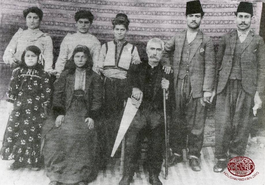 Հաճըն, Իզմիրլեան ընտանիքը, 1914-ին