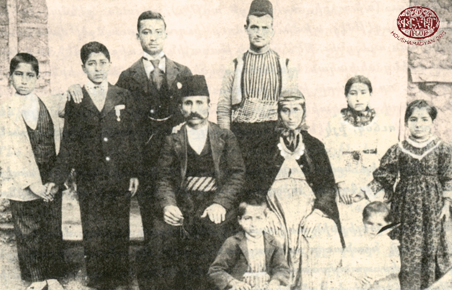 An Armenian family from Hadjin