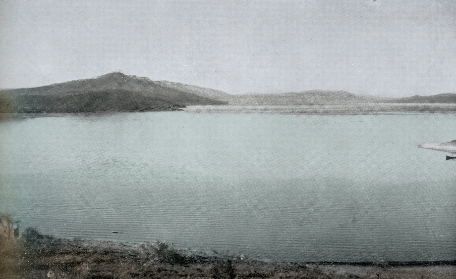 Panorama photo taken from Lake Dzovk/Gölcük