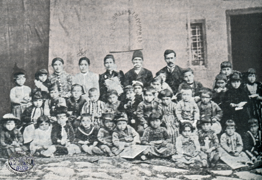 Yozgat (town): an Armenian kindergarten with teachers and managers