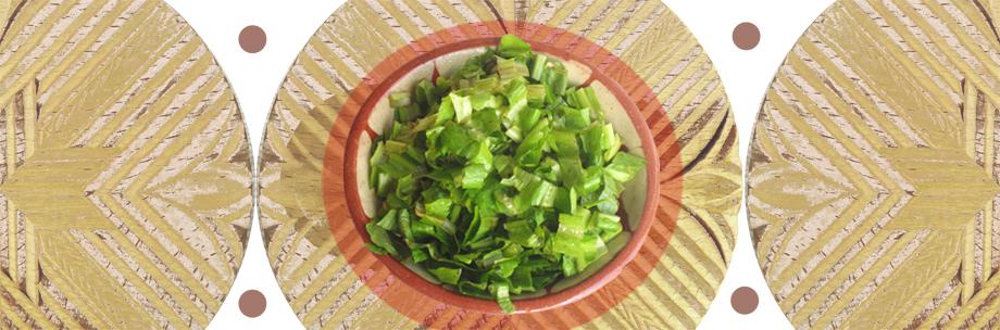 Maroulluh Salatou (lettuce salad)