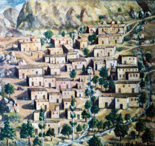 Oil painting by unknown artist (Zorabedian Collection)