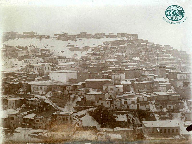 Muş şehri panoraması