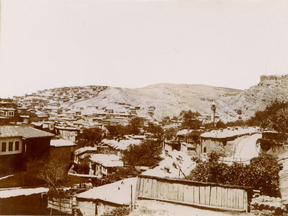 Maraş'tan bir manzara (Kaynak: Özel koleksiyon)