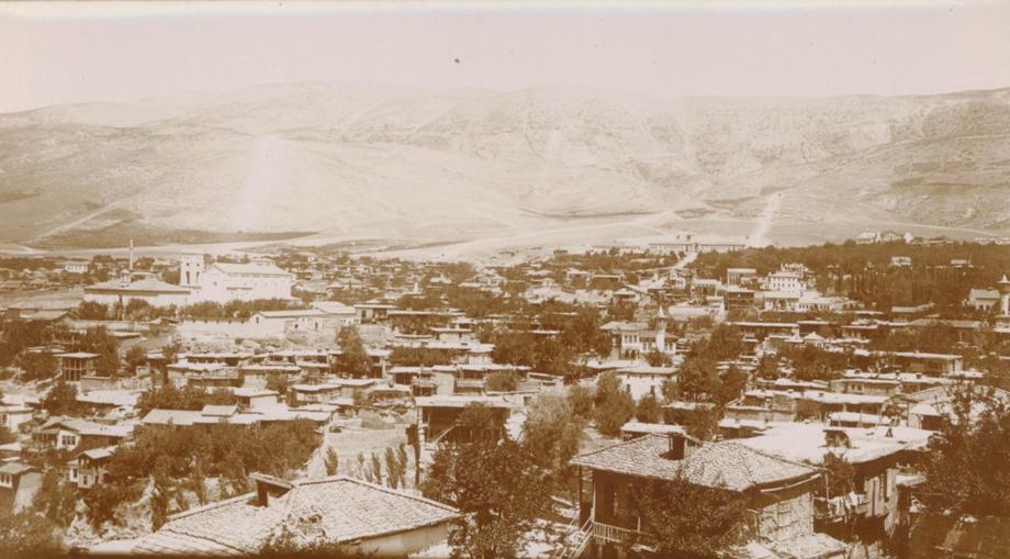 Maraş'tan genel bir manzara (Kaynak: Özel koleksiyon)