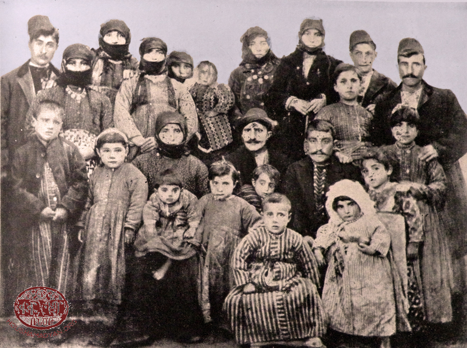 The Uluhodjian family of Tadem/Tadım in 1910