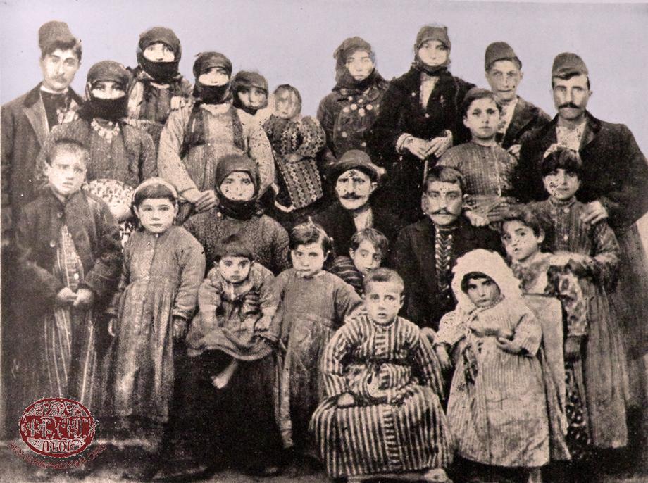 Դատեմի (Դատըմ) Ուլուհոճեան ընտանիքը, 1910-ին