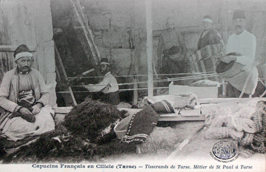 Adana: Rug weavers (Source: Michel Paboudjian collection, Paris)