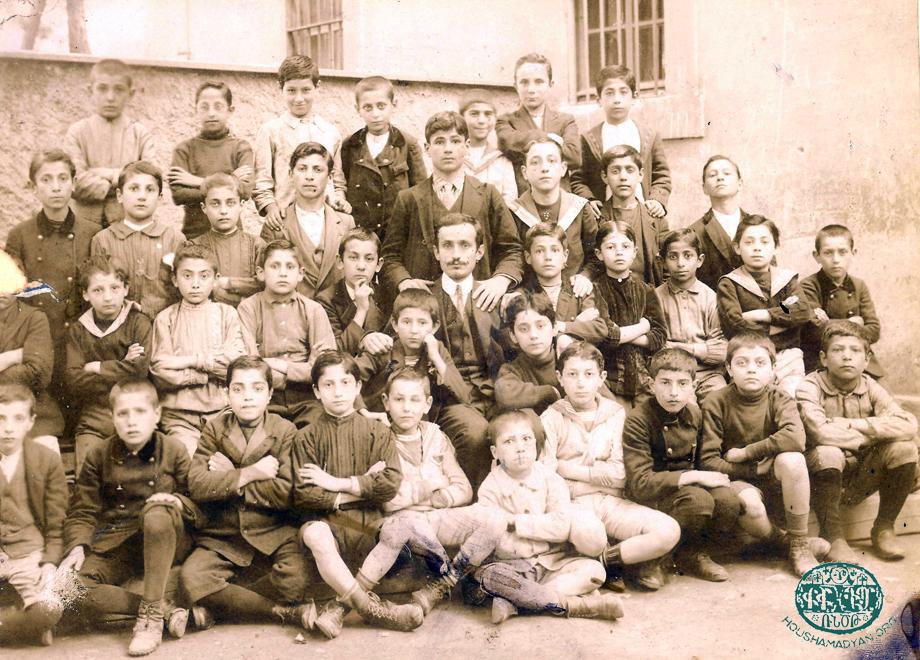 Երիցագրակ, 1908-էն ետք։ Դպրոցին աշակերտները