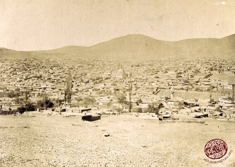 Yozgat: a panorama of the town