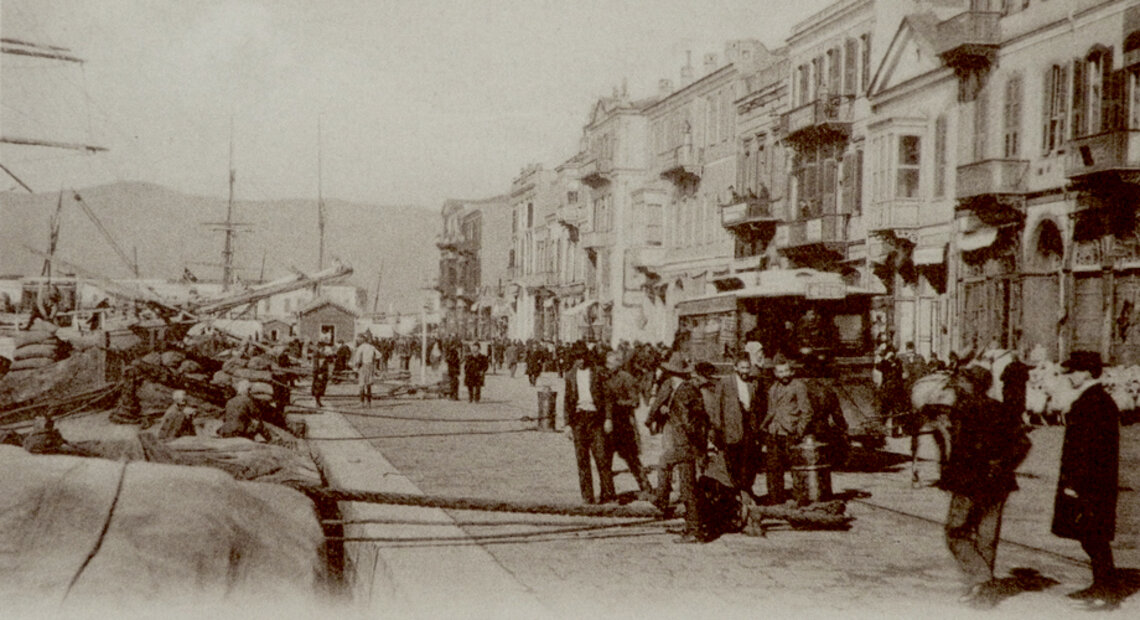 A scene from Izmir (Michel Paboudjian Collection)
