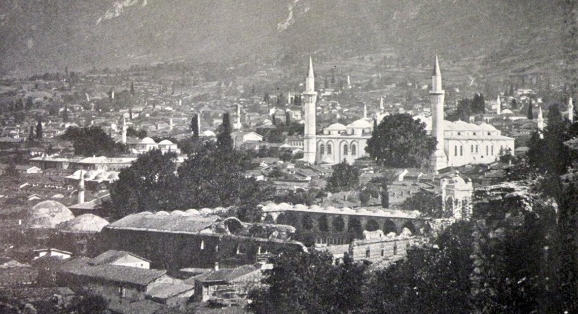 Bursa Town (Edwin M. Bliss, Turkey and the Armenian atrocities, London, 1896)